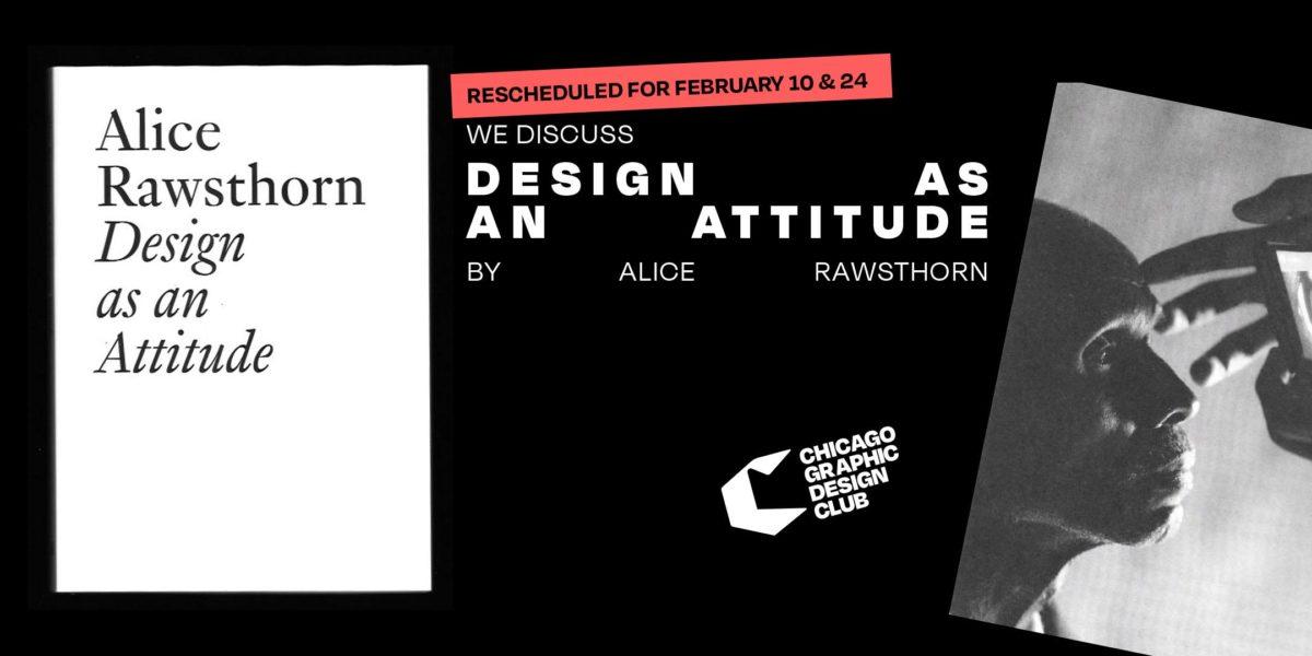 design as an attitude alice rawthorn