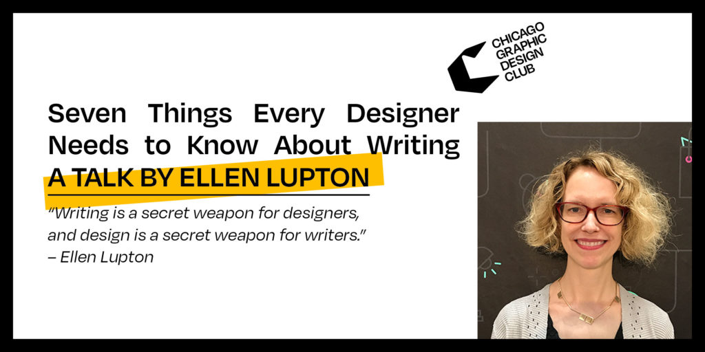 Seven Things Every Designer Needs to Know About Writing